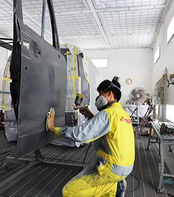 沖縄の鈑金(板金)・塗装・修理は次郎工業へ