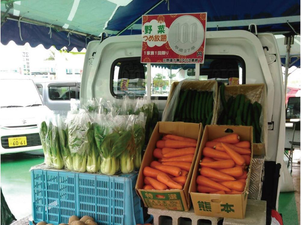 野菜市の様子5